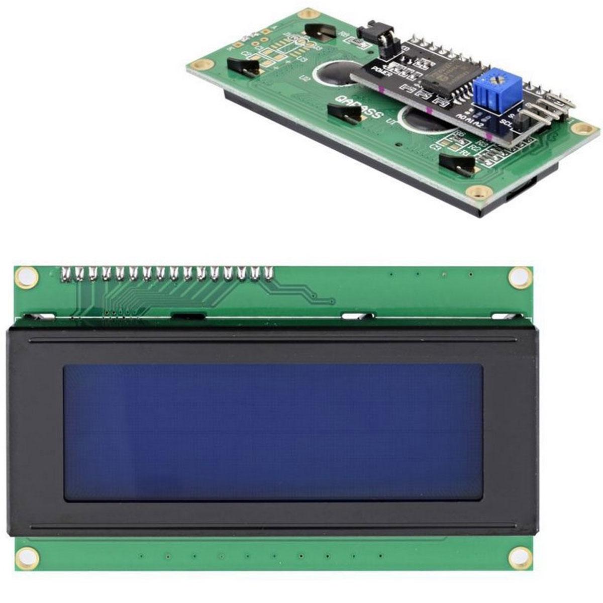 Display LCD Azul 20x4 + Módulo I2c Serial já soldado