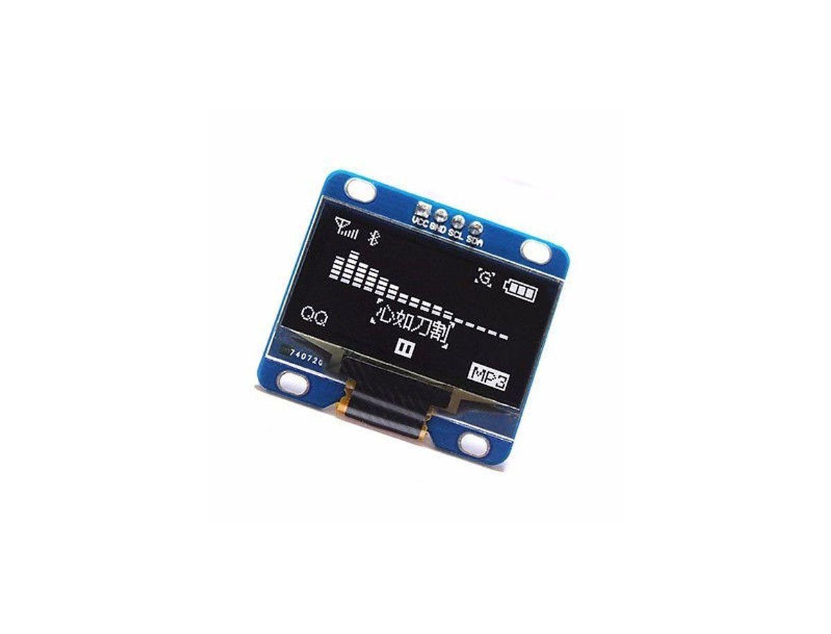 "Display Oled 128x64 Gráfico I2C Serial 0.96"" - BRANCO"