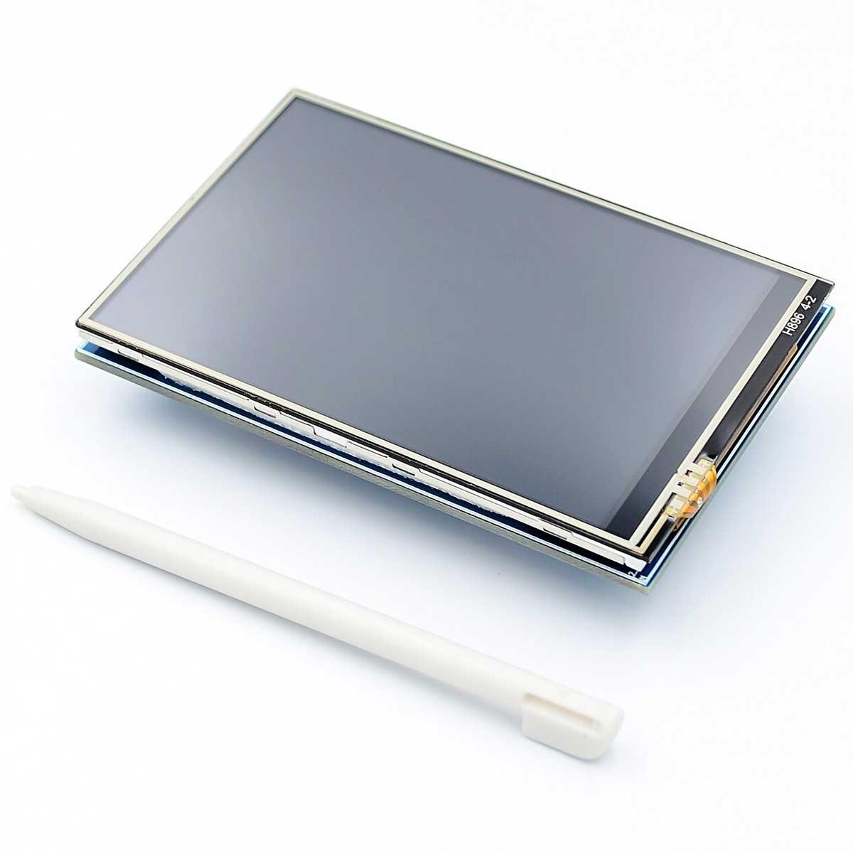 "Display Tela LCD TFT Touchscreen 3.5"" 320 X 480 para Raspberry"