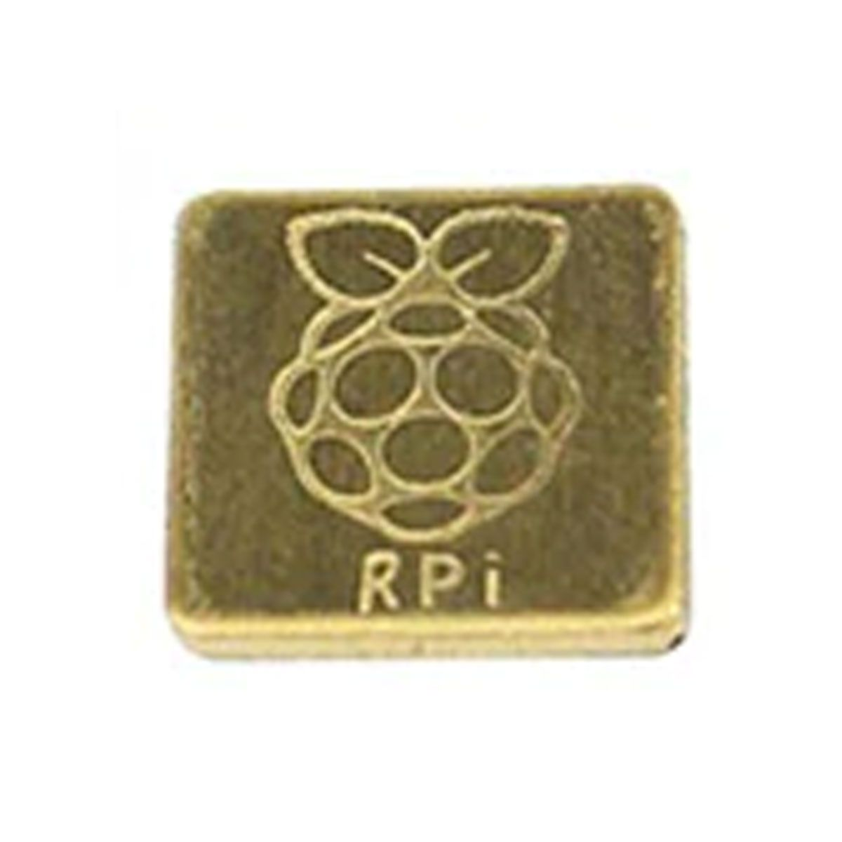 Dissipador de Calor de Cobre 12mm x 12mm para Raspberry Pi Zero