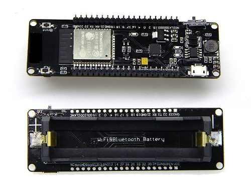 Esp32 D1 Suporte Bateria 18650 Wifi Ble Iot Wemos + Cabo
