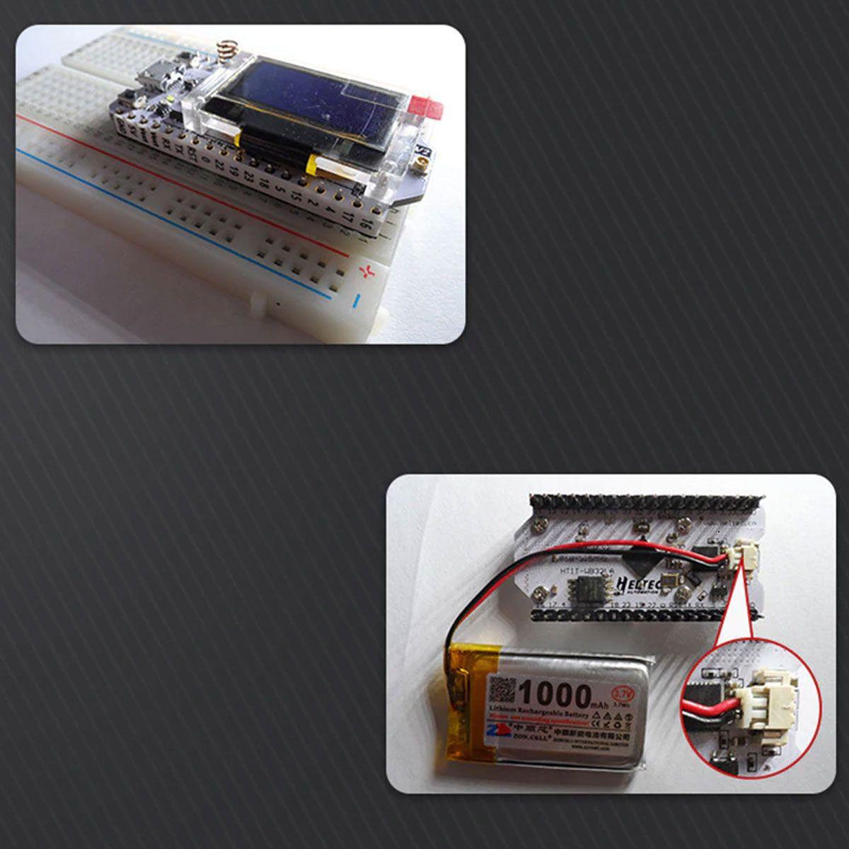 Esp32 V2 Lora Display Oled Wifi 915mhz Heltec Ble com Antena