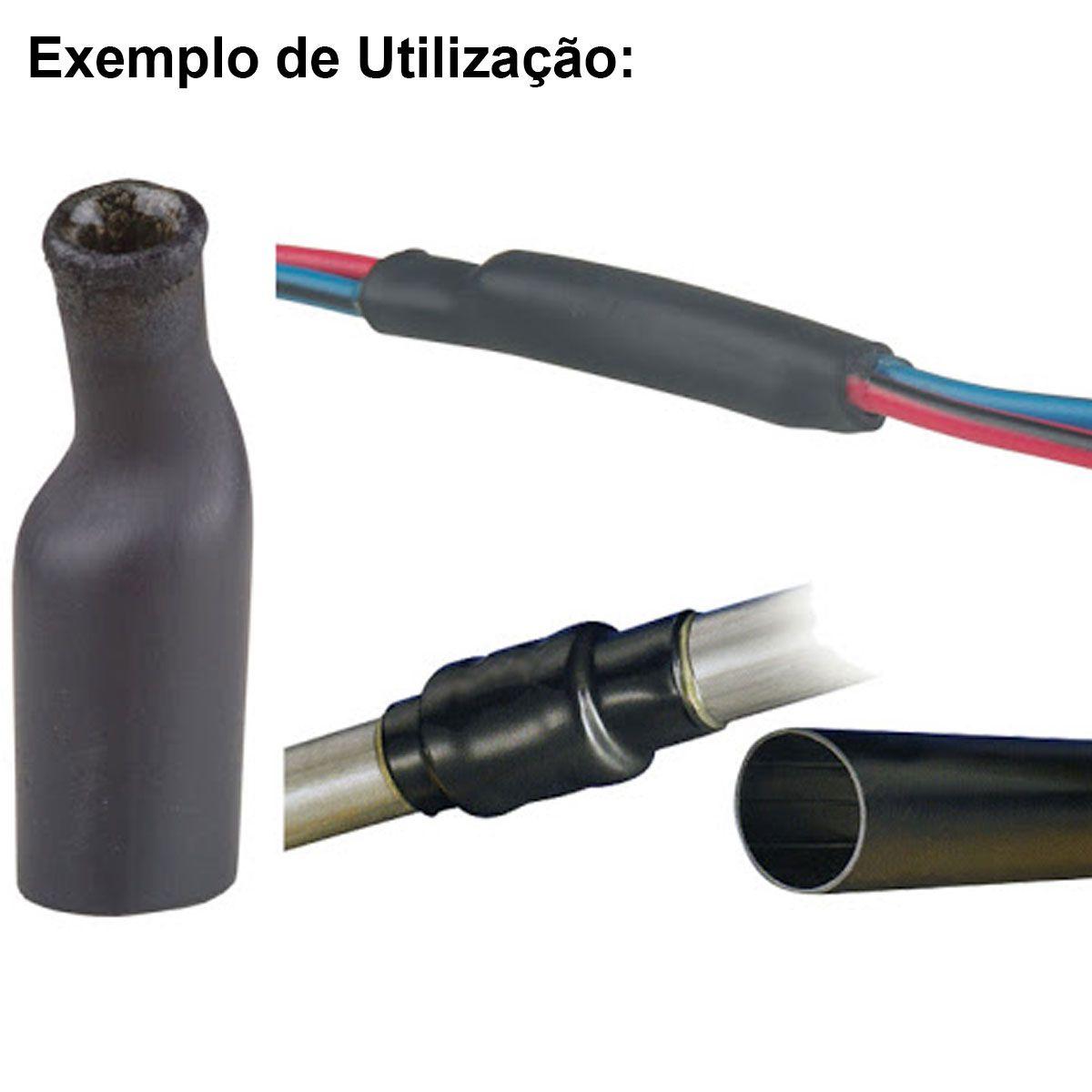 Espaguete Isolante Tubo Termo Retrátil 530 Peças
