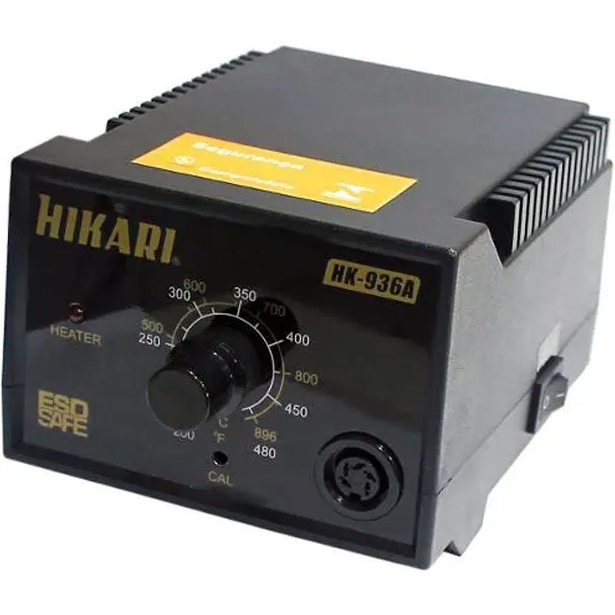 Estação de Solda Analógica Hikari HK-936A ESD 220v Garantia de 2 anos