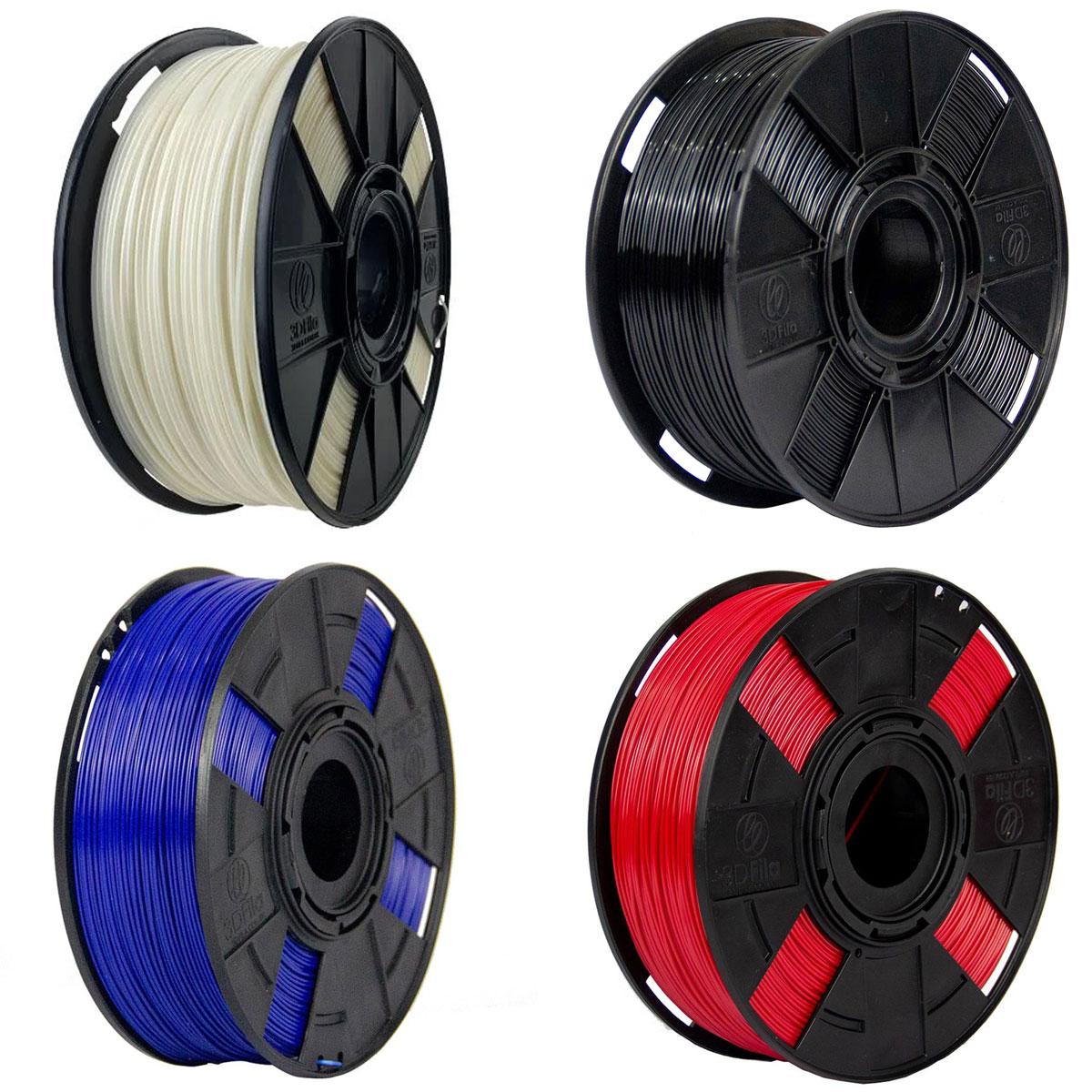Filamento ABS Premium 3DFILA para Impressão 3D | 1,75mm | 1kg | Impressora 3D
