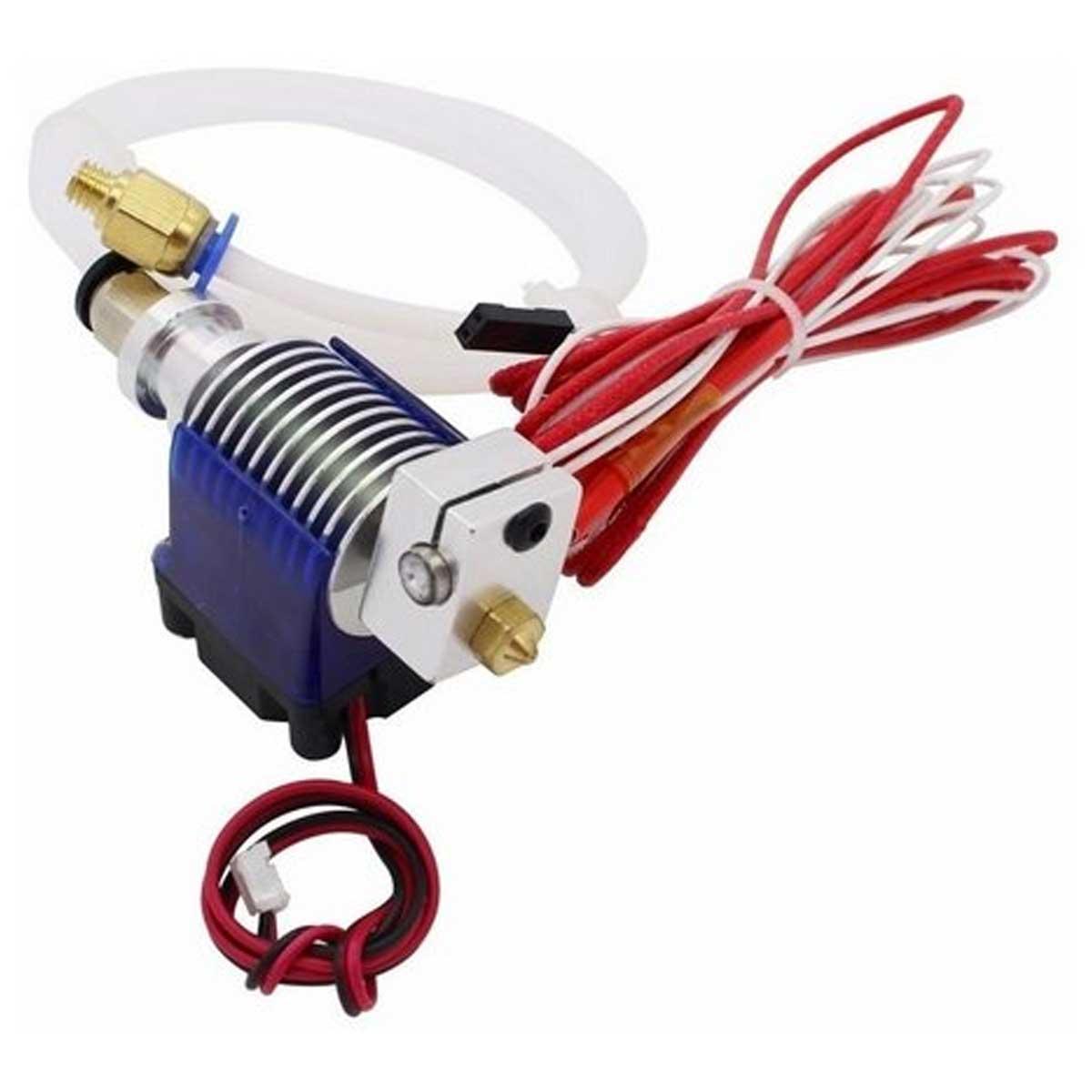 Hotend Bowden Extrusor V6 E3D 1,75mm Impressora 3d + Cooler + Termistor + Nozzle