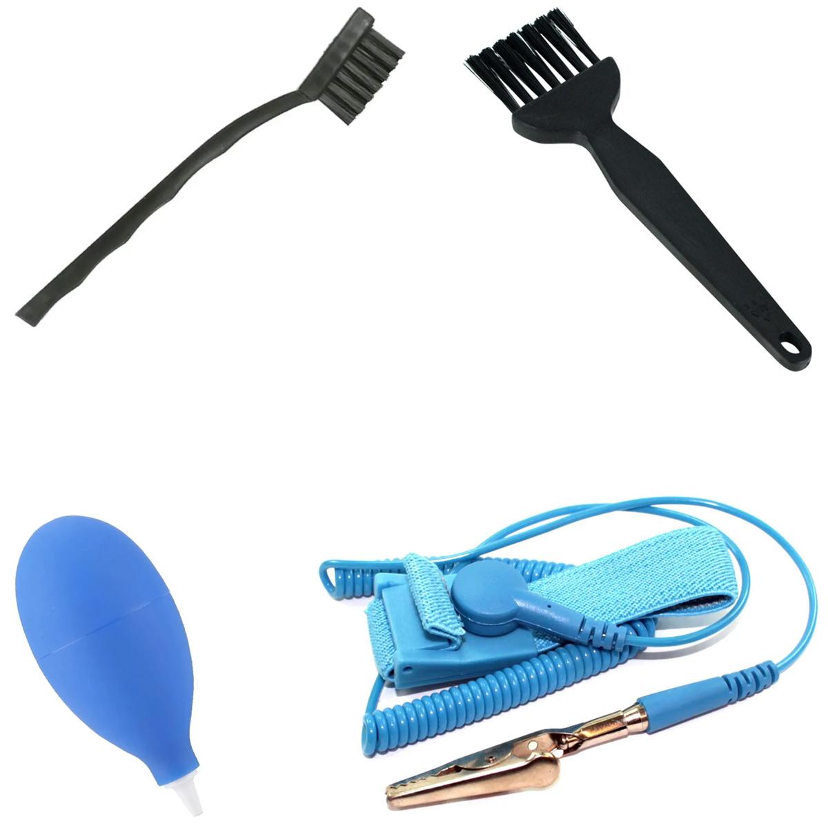 Kit Antiestático e de Limpeza / Manutenção de Placas Eletrônicas, Computador, Celular
