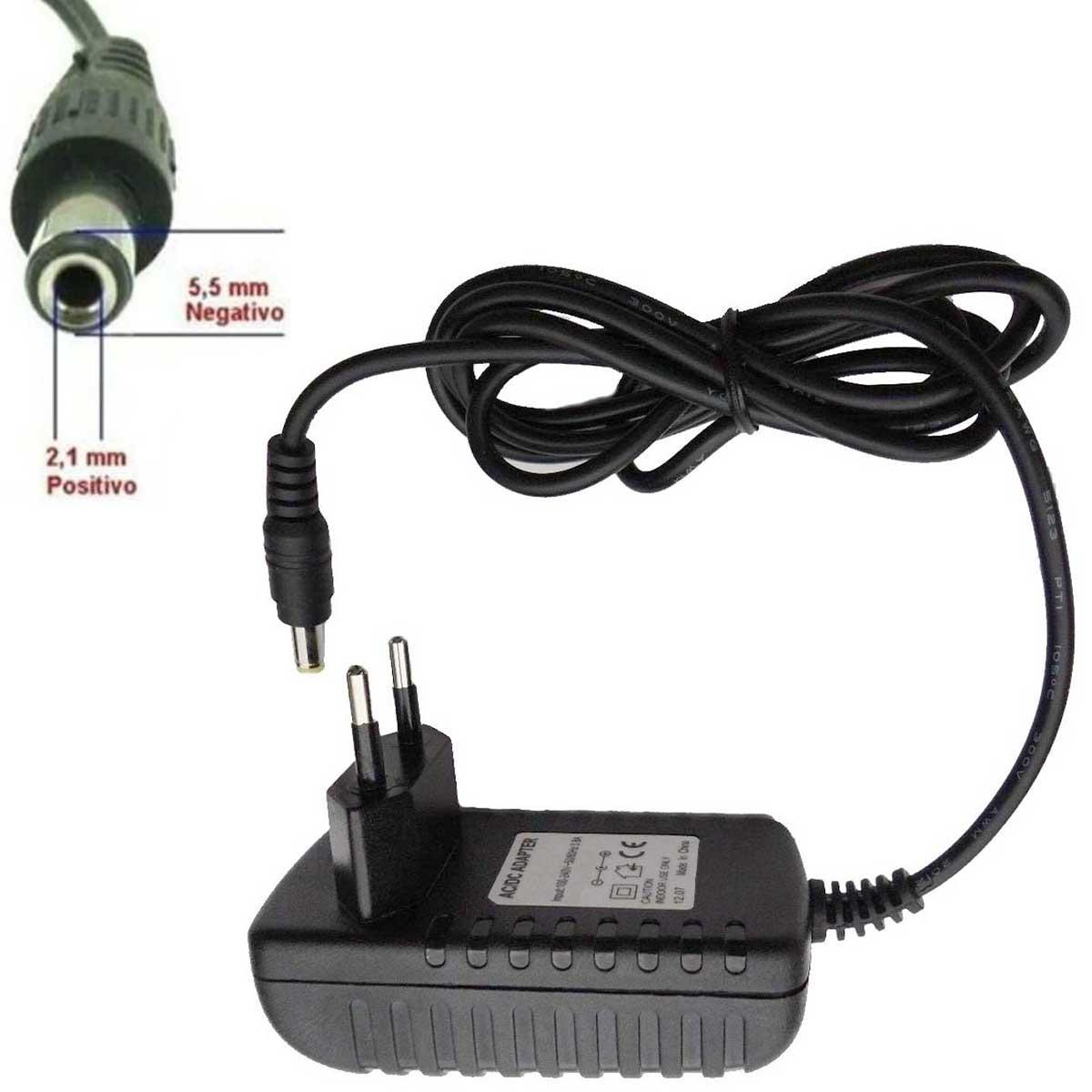KIT Carregador Universal para BMS até 5s: Fonte 24v 1A Parede + LM2596 Display + Rabicho