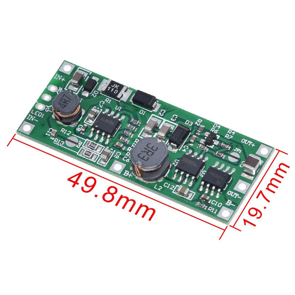 Kit DIY UPS Carregador Solar com Bateria 18650 de Lítio - Saída 12v