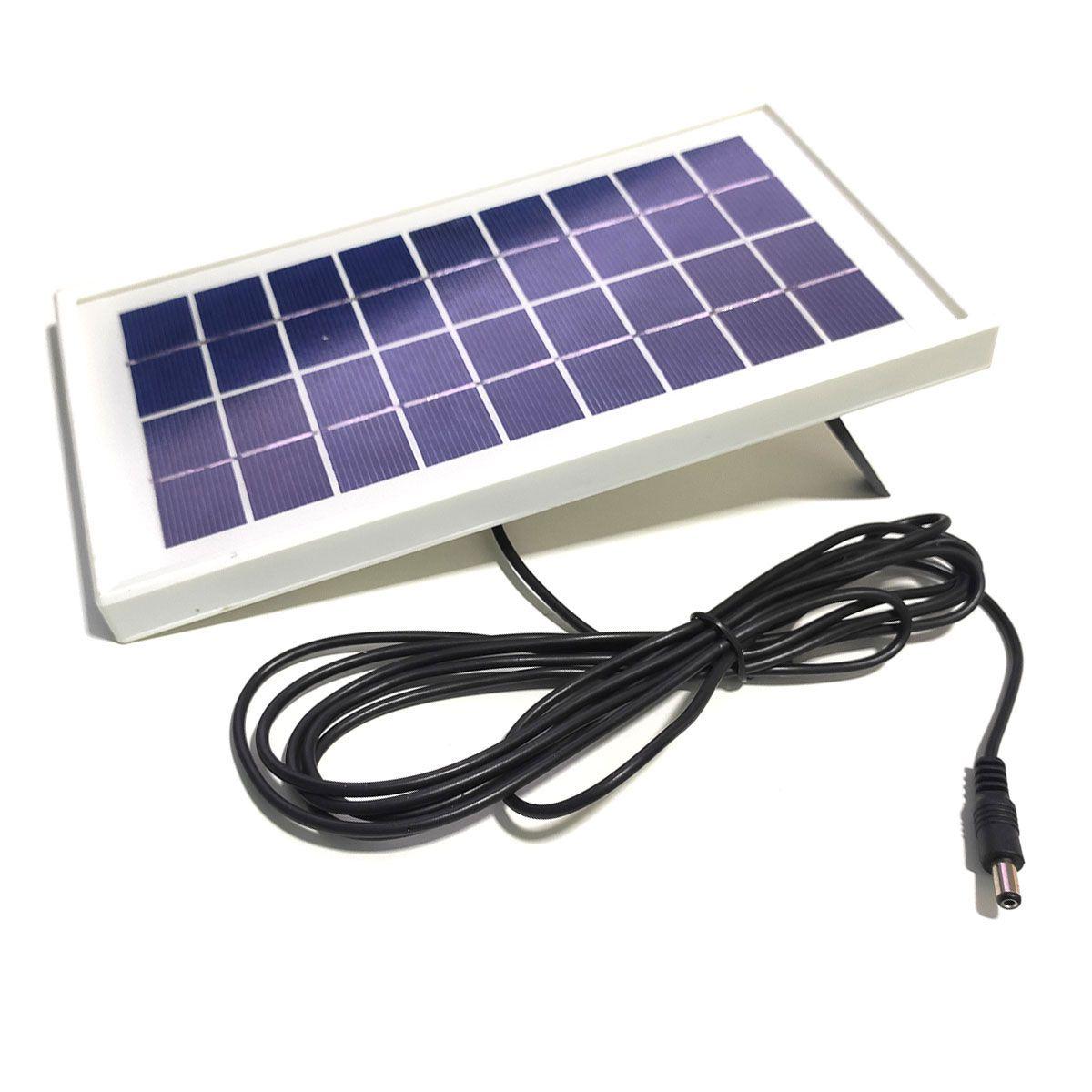 Kit  DIY UPS Carregador Solar com Bateria 18650 de Lítio - Saída 9v