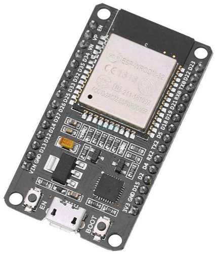 Kit ESP32 + Cabo + Protoboard + Resistores + Leds + Botões + Cabos Jumpers