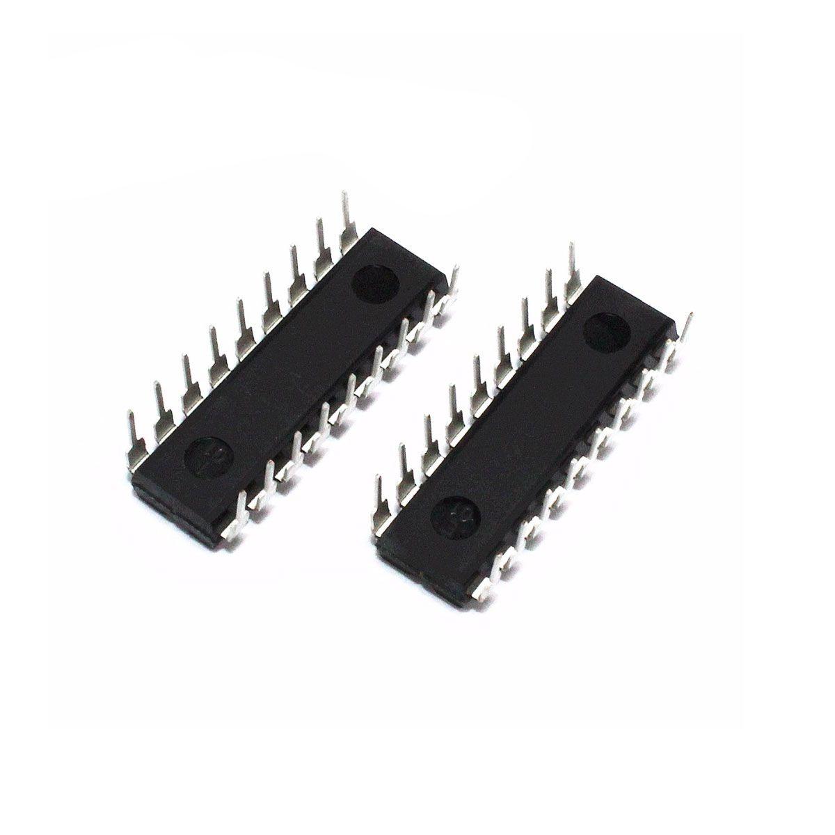Kit HT12E e HT12D Encoder e Decoder para RF 433 Mhz