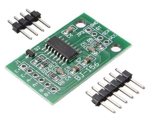Kit Módulo HX711 ADC 24 Bits + Célula de Carga / Peso 50Kg