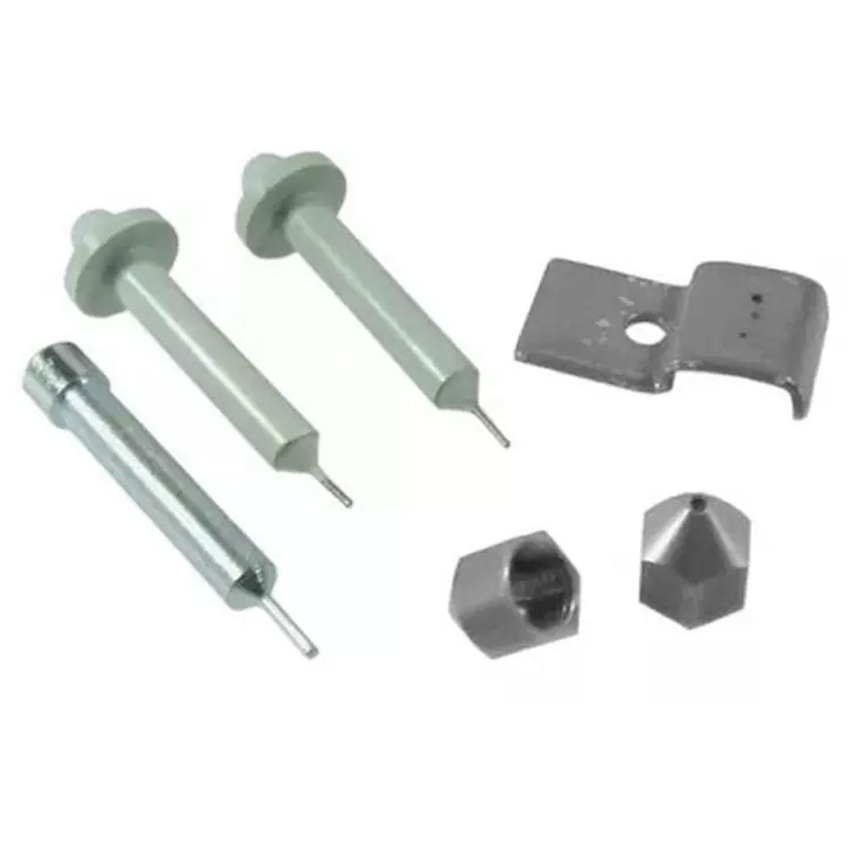 Kit Punção para Perfurador de Placa 3 Tamanhos 0,8mm 1,0mm e 1,5mm