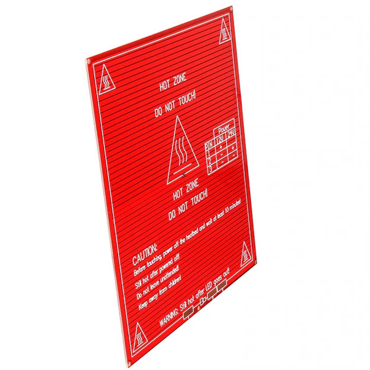 Mesa aquecida MK2B PCB 12V / 24V para Impressora 3D