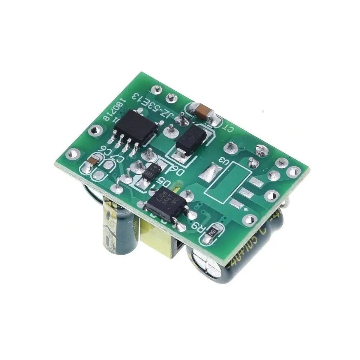 Mini Fonte Conversor AC / DC 110/220VAC para 5,0v DC 700mA 3,5W