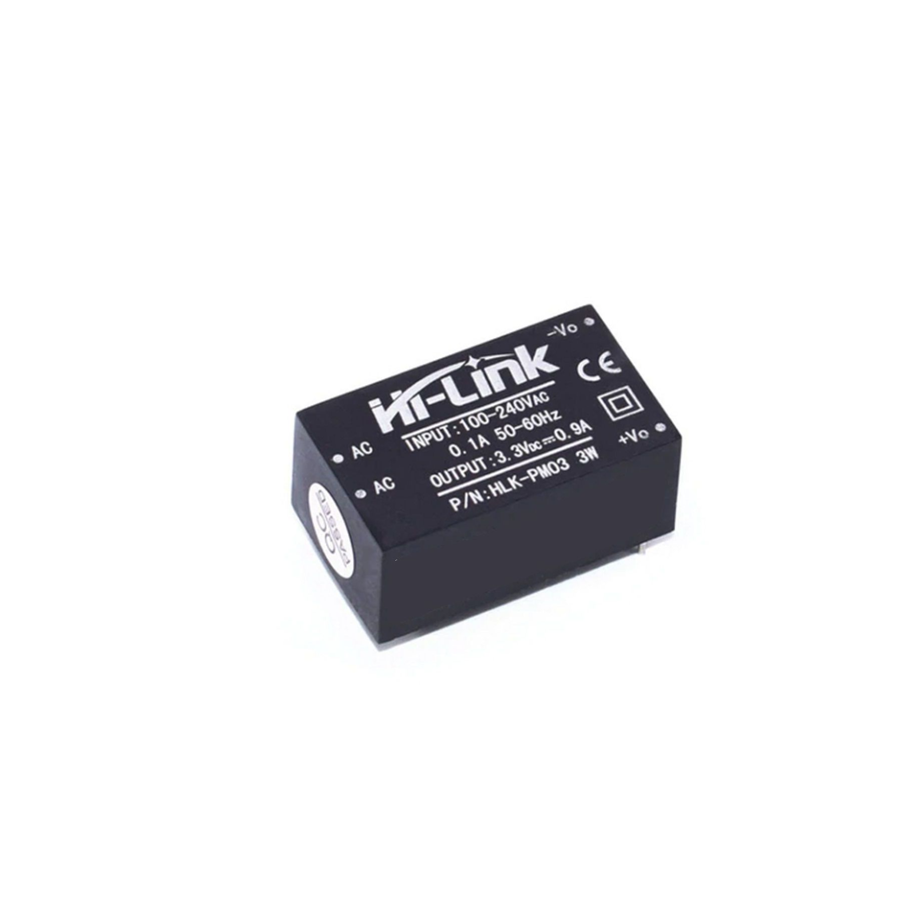 Mini Fonte Hi-link HLK-PM03 100~240VAC para 3.3V DC 800mA 3W