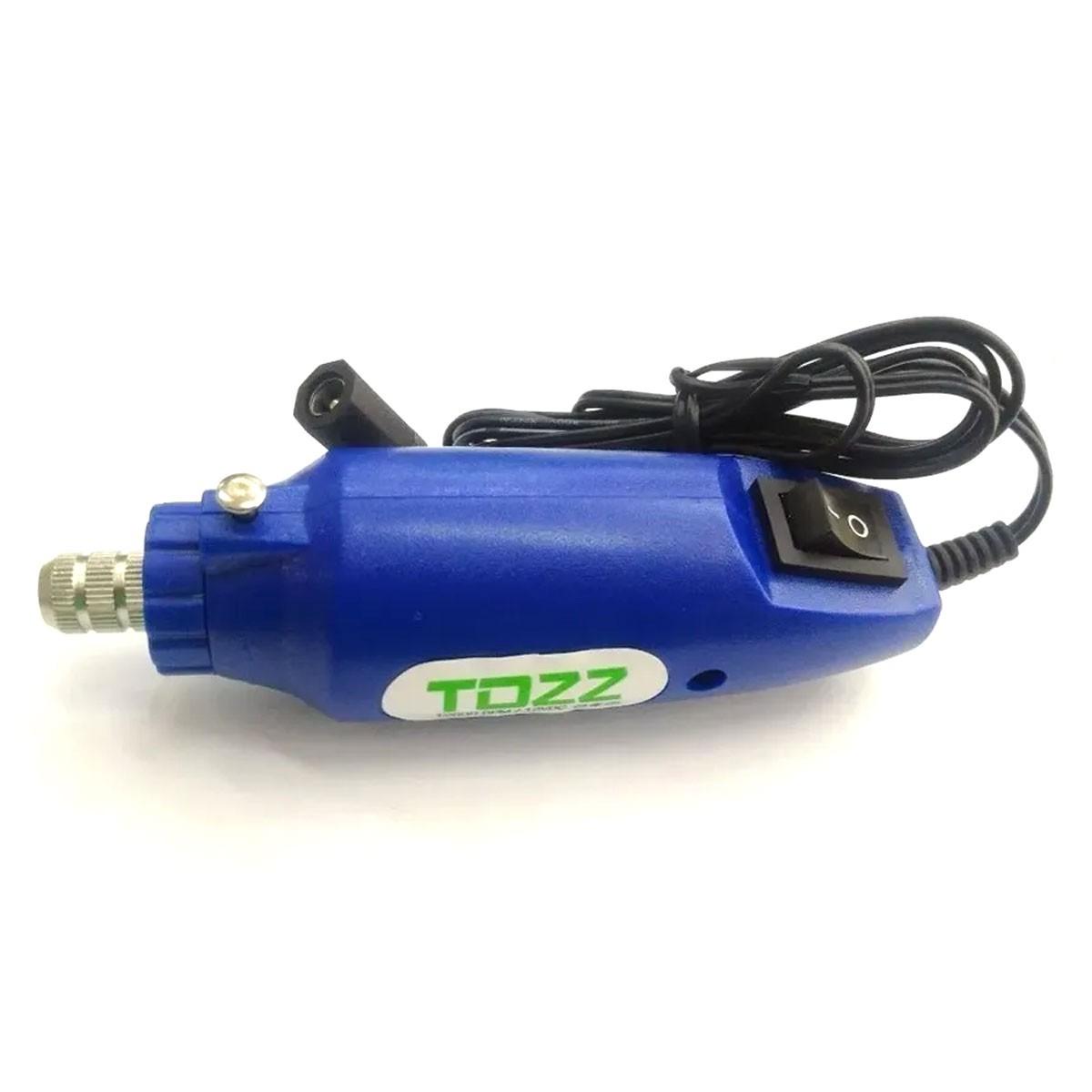 Mini Furadeira Drill Retifica com Acessórios para Artesanato, furar Placa de Circuito Impresso