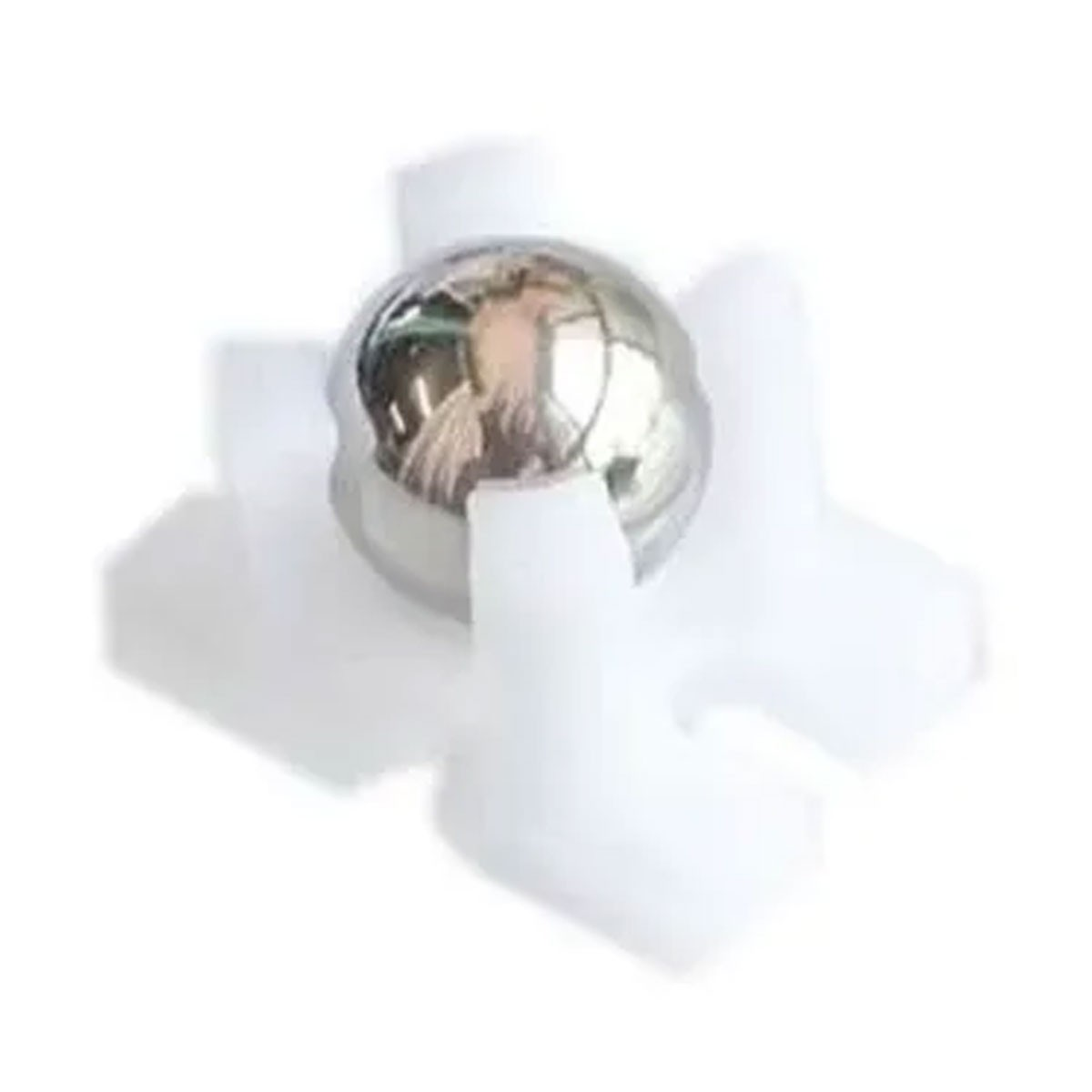 Mini Roda boba / Esfera giratória 12mm para Chassi de Carrinho / Robô