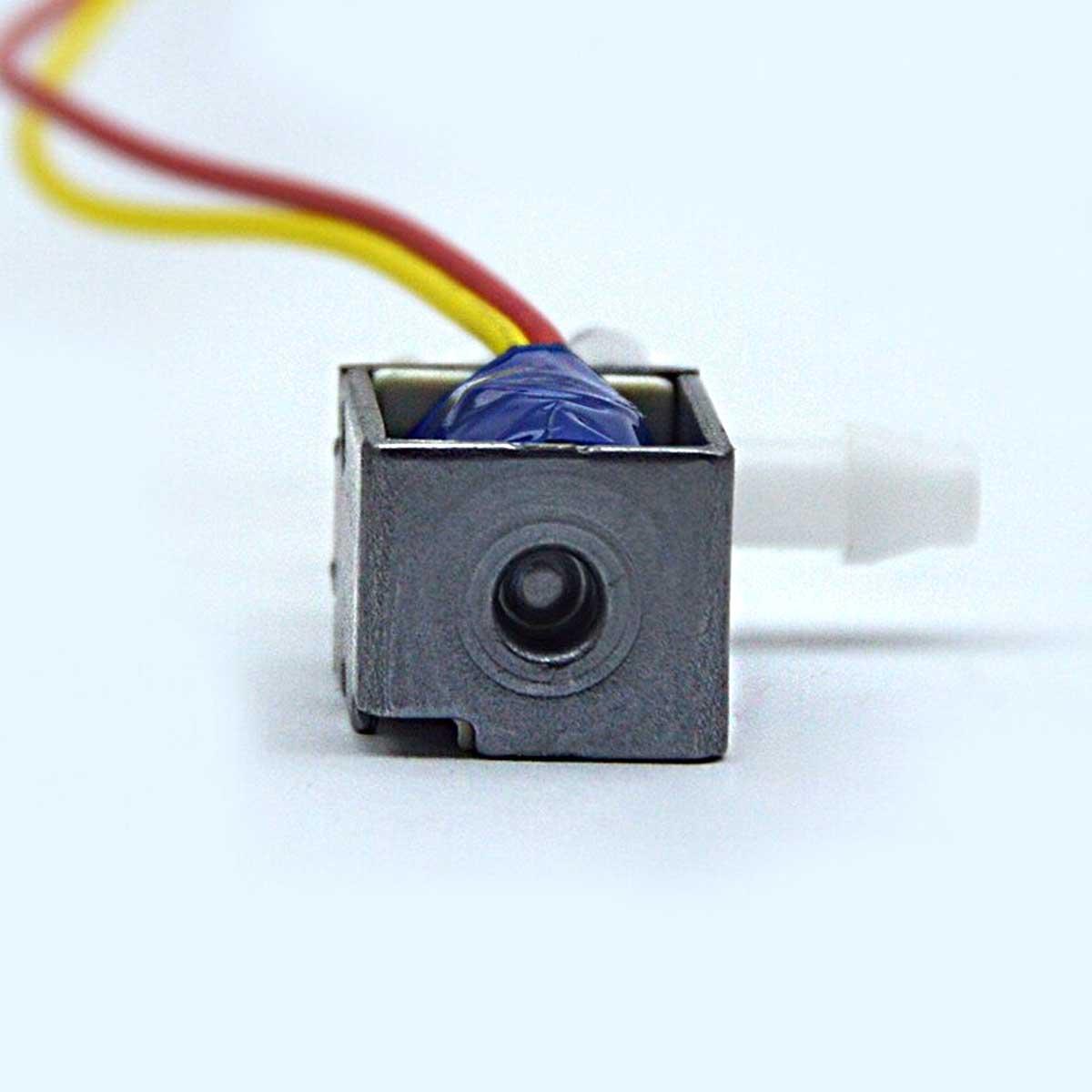 Mini Válvula Solenoide 12V DC Normalmente Fechada para Ar, Gás, Água