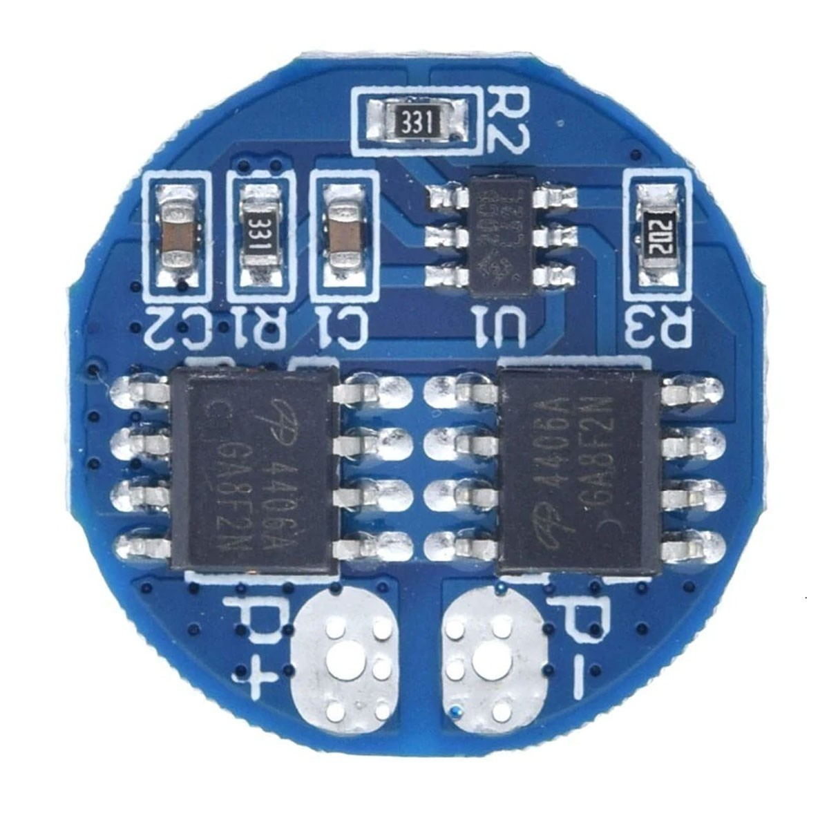 Módulo carregador de bateria 2S 5A com proteção BMS