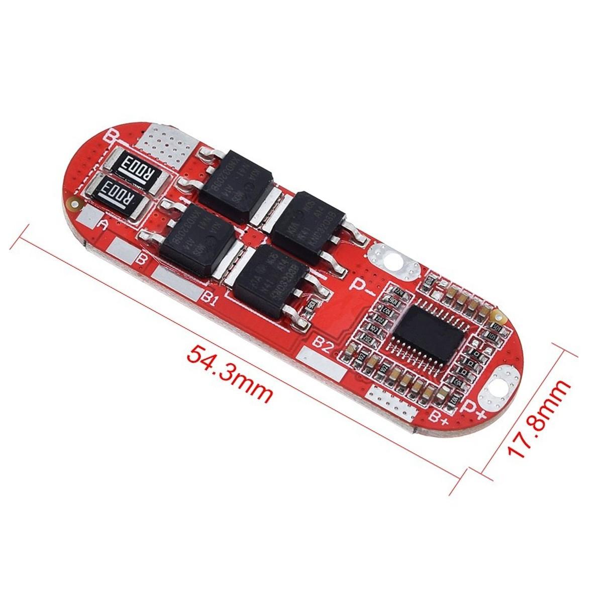 Módulo Carregador de Baterias 5s 25a com proteção BMS