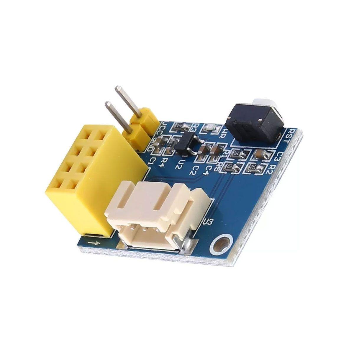Módulo Controlador Ws2812 Rgb Fita de Led para Esp8266 Esp -01 Esp -01s