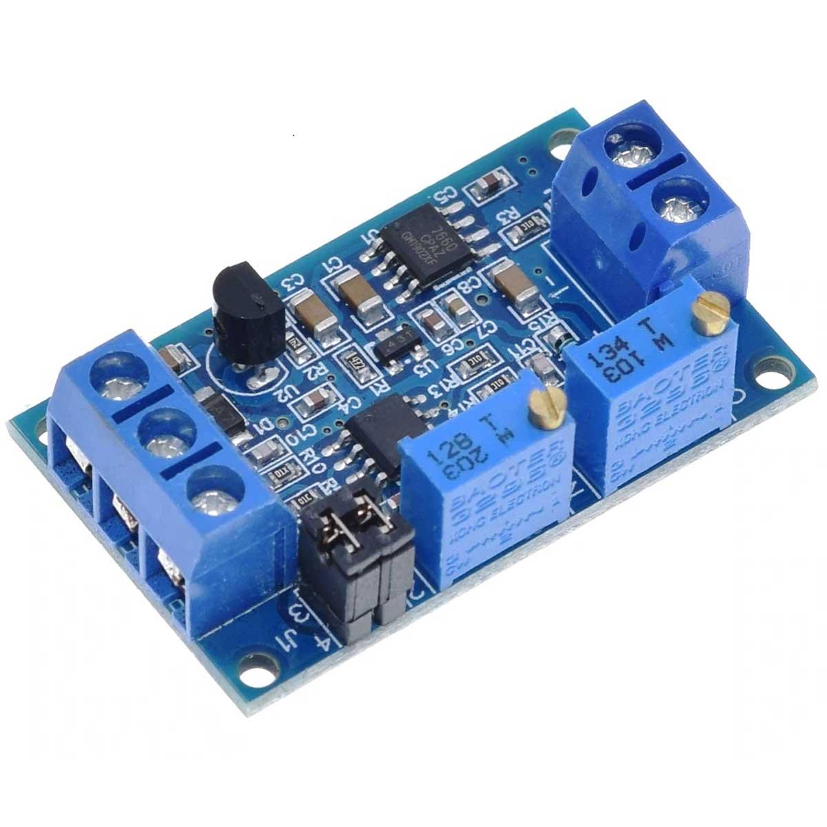 Módulo Conversor de Corrente para Tensão 4 a 20mA para 0-3.3V / 5V / 10V