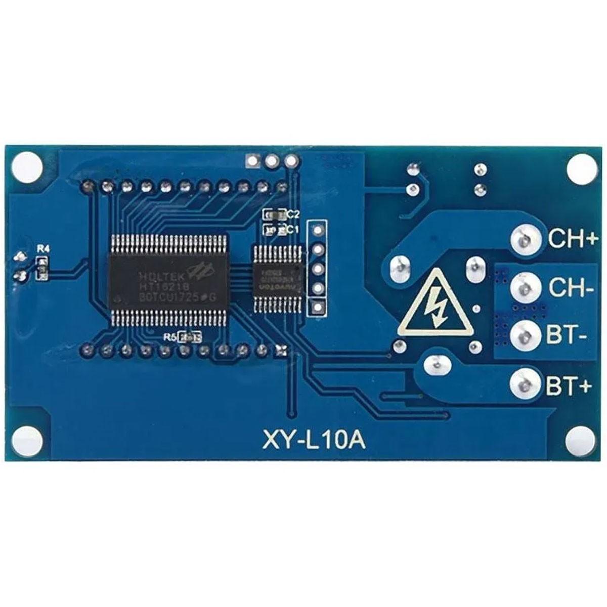 Módulo de Controle de Carga e descarga de Bateria 6v a 60v 10A - XY-L10A