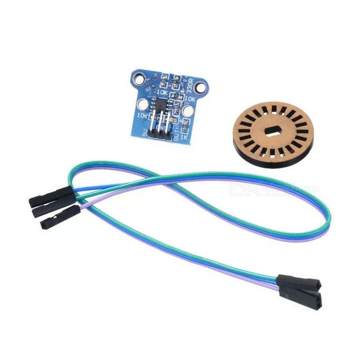 Módulo Encoder para Medição De Velocidade - HC-020K
