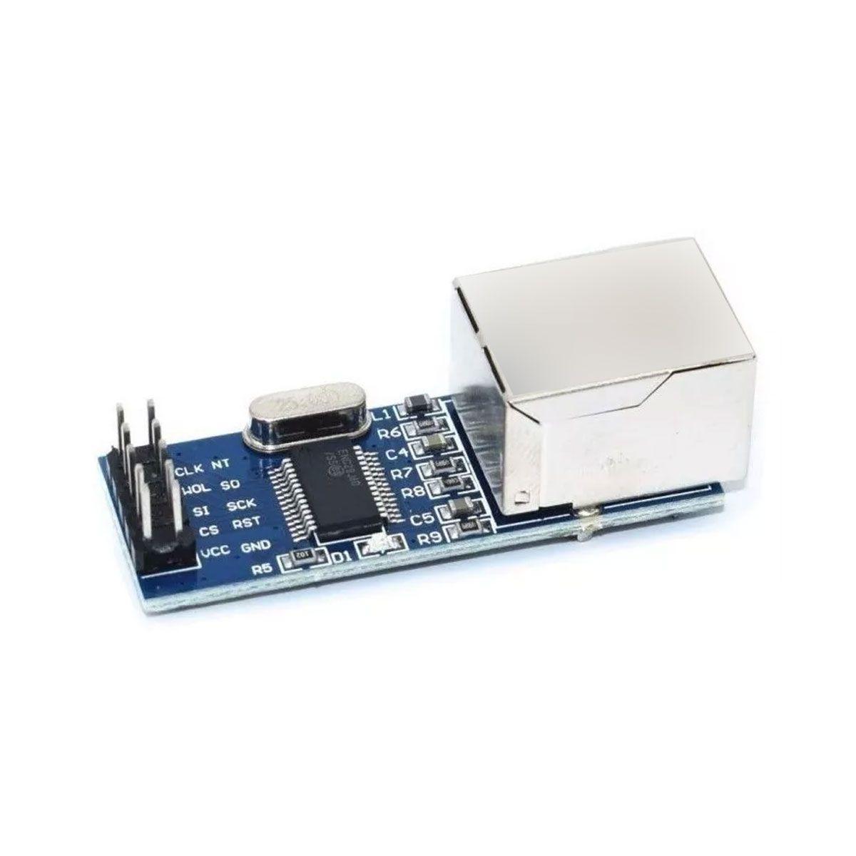 Módulo Ethernet Shield Enc28j60