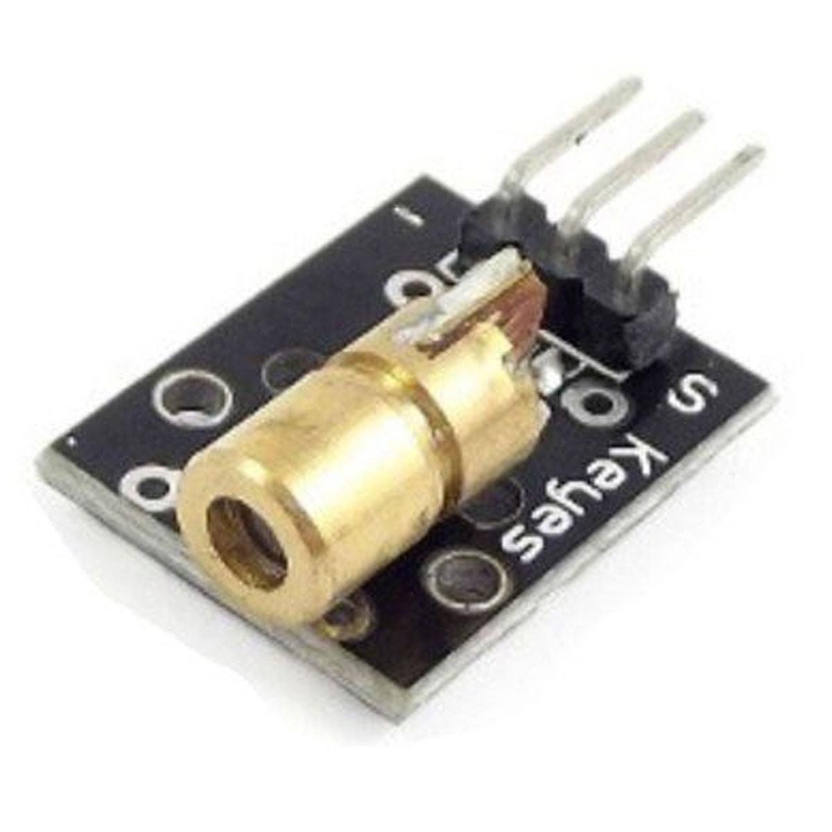 Módulo Laser 6mm 5mW Vermelho KY-008