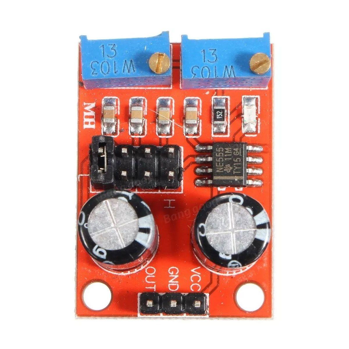 Modulo Ne555 Gerador Pulso Frequência PWM