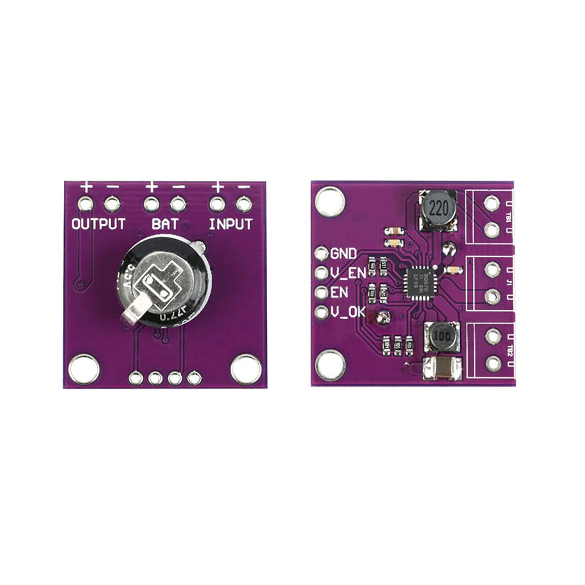 Módulo para Colheita de Baixa Energia Piezoeletricidade - BQ25570