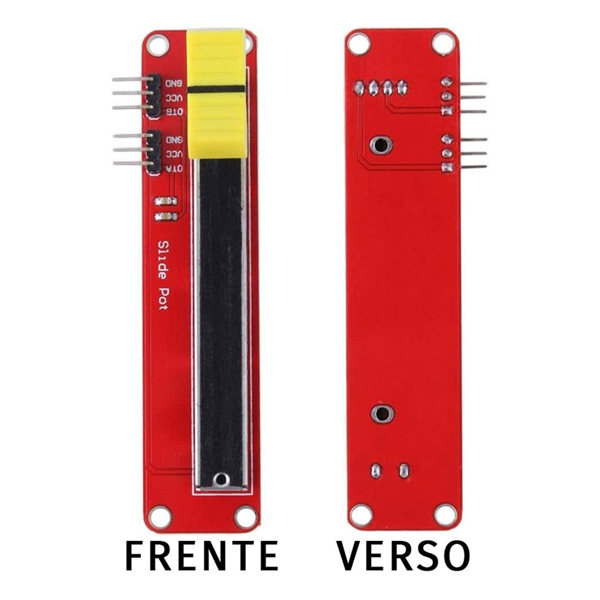 Módulo Potenciômetro Deslizante 10k para Arduino