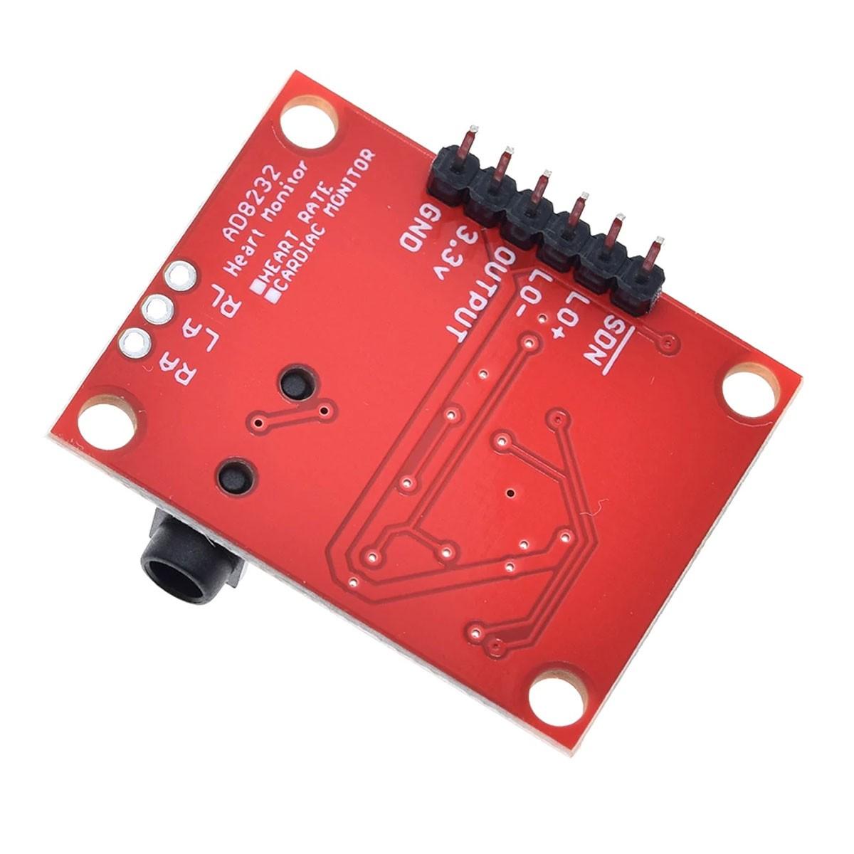 Módulo Pulso / Frequência Cardíaca  - Ecg Ad8232 + Sensores