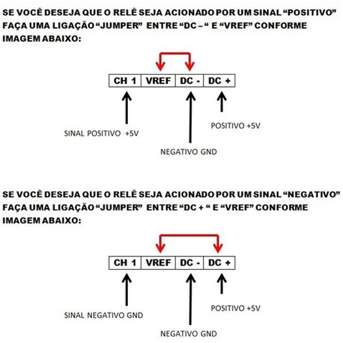 Modulo Relé 5v 1 Canal 30a Alta Potência - RM1HLE-30A