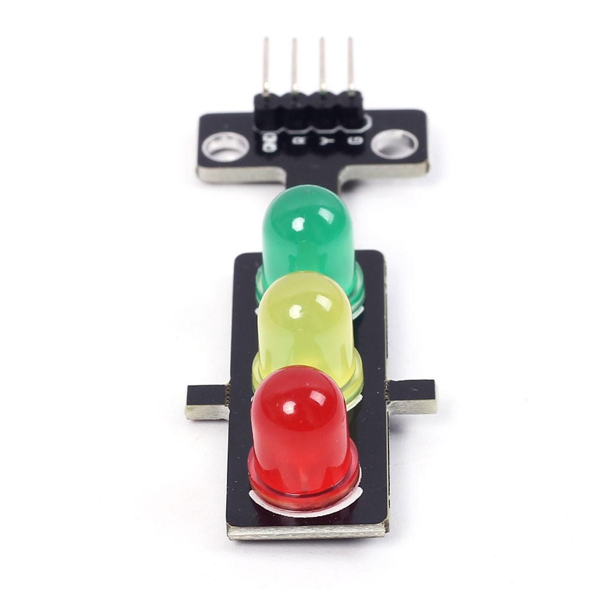 Módulo Semáforo com Leds de 8mm 3v