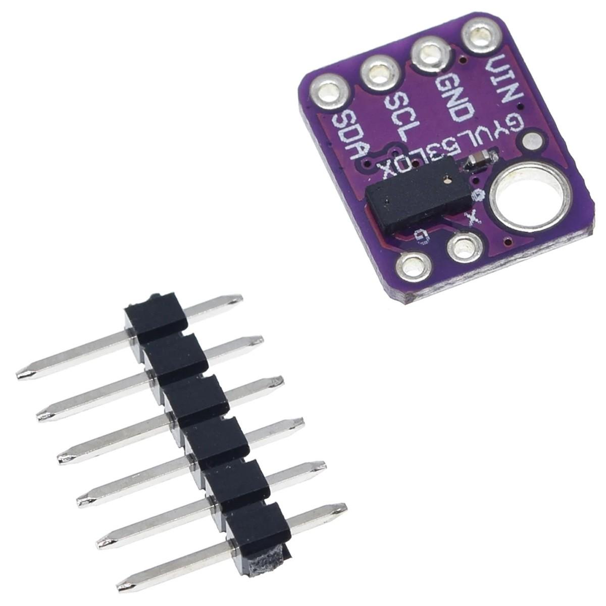Módulo Sensor de distância Laser VL53L0X - Sensor de Proximidade GY530