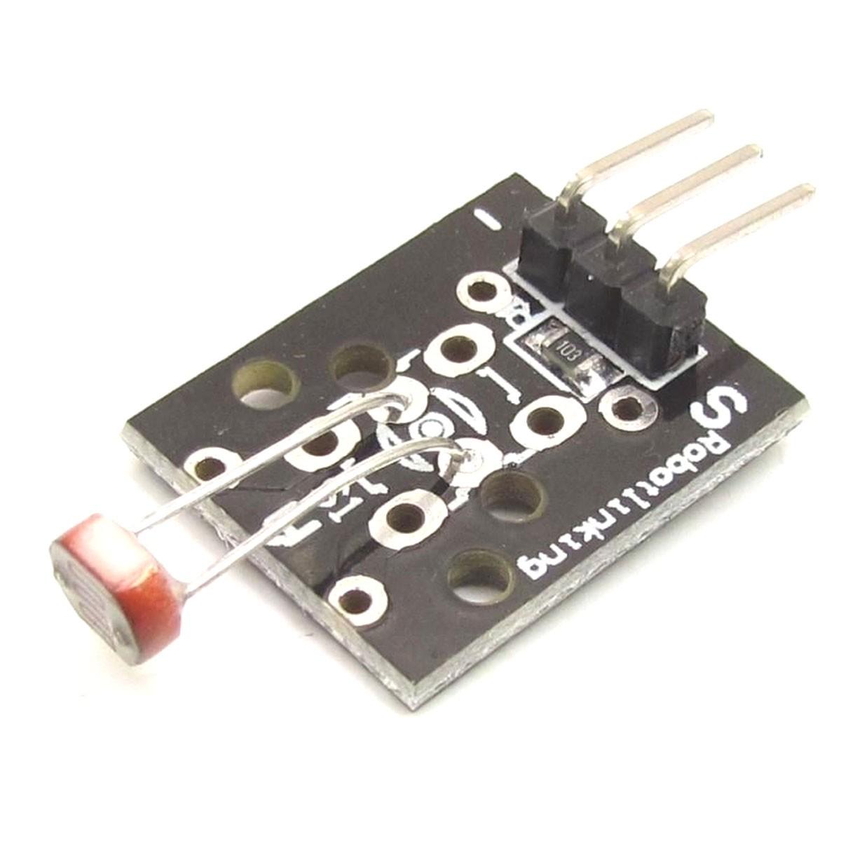 Módulo Sensor de Luminosidade Fotoresistor LDR - KY-018