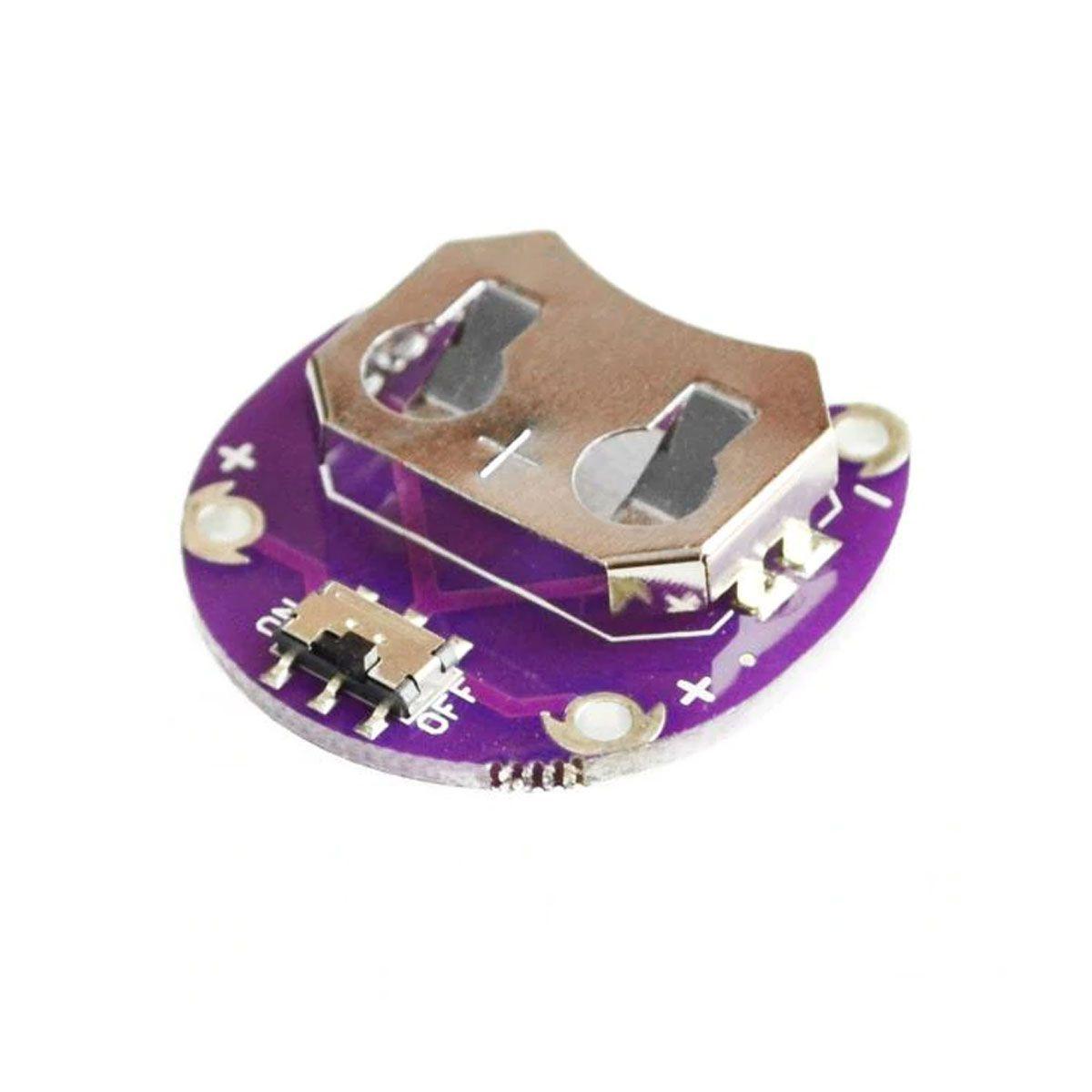 Módulo / Suporte LilyPad para Bateria CR2032/2025