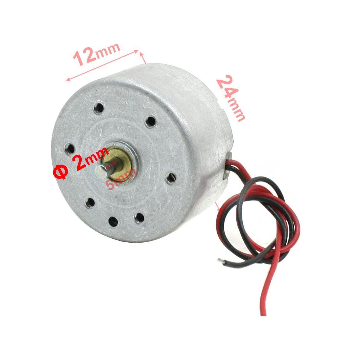 Motor de DVD RF-300CA 5.9V 6600RPM