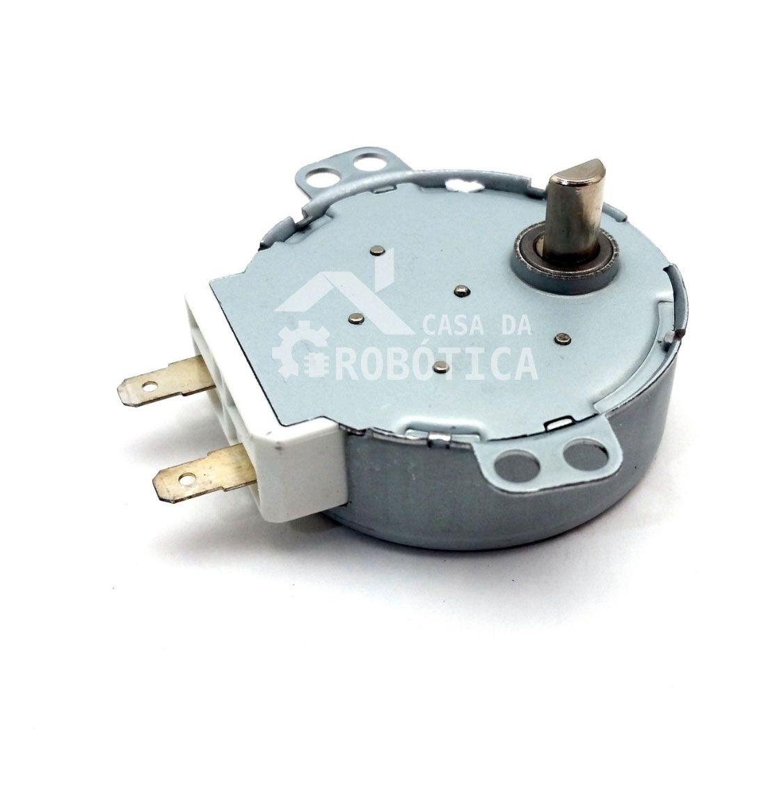 Motor de Microondas / Chocadeira 3 Rpm - 220v - Uso Geral