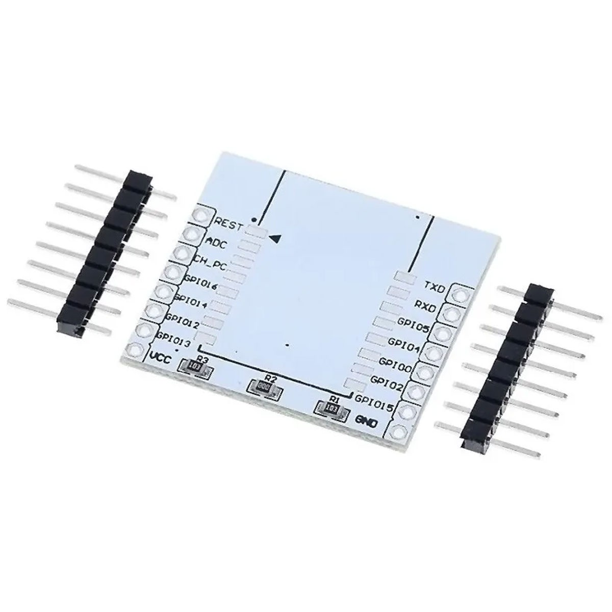 Placa Adaptador Para Soldar Esp8266 Esp07 Esp08 Esp12e Wifi