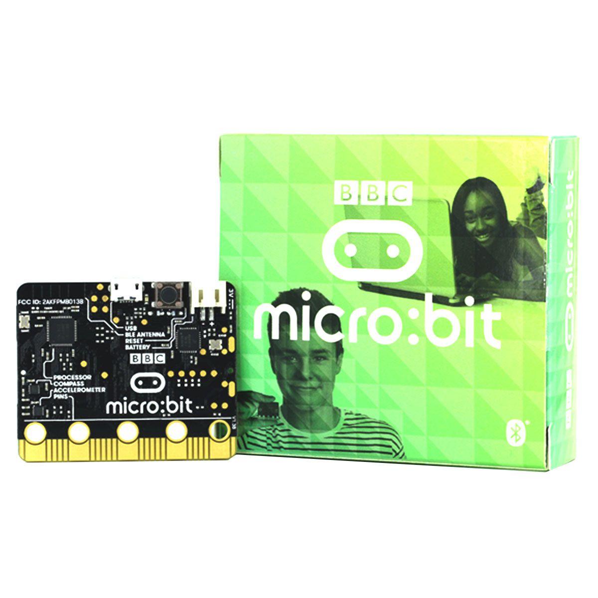 Placa BBC Micro:bit / Microbit V1.5 - Mini Computador para Ensino de Programação