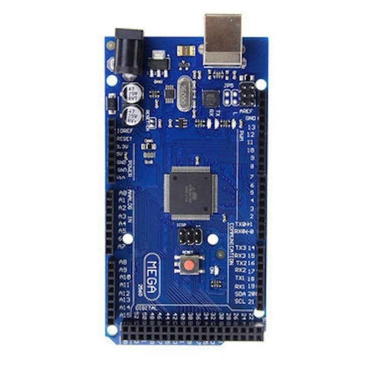 Placa Compatível Arduino Mega 2560 R3 Atmel Mega16u2