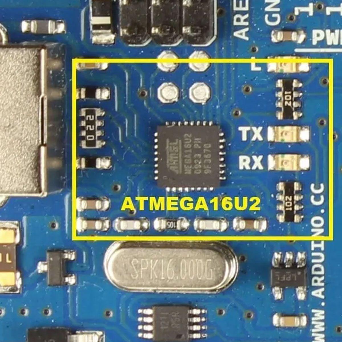 Placa Compatível Arduino Mega 2560 R3 Atmel Mega16u2 + Cabo