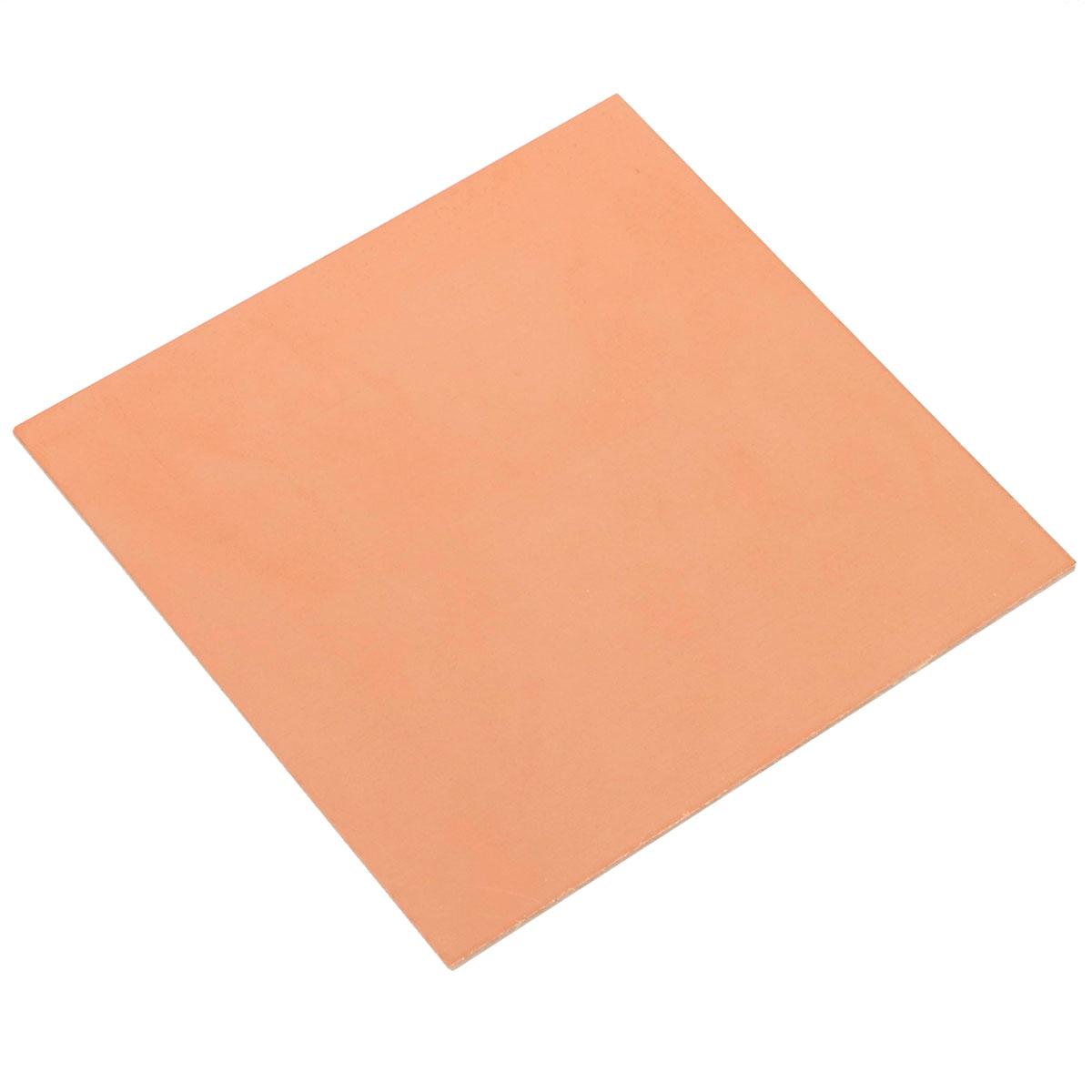 Placa de Fenolite Cobreada Simples 5x5cm para Circuito Impresso - PCI