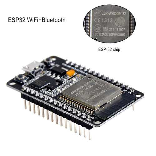 Placa Esp32 com WI-FI, Bluetooth Esp32s IDE Dual Core - Dev Kit V1 + Cabo Micro USB