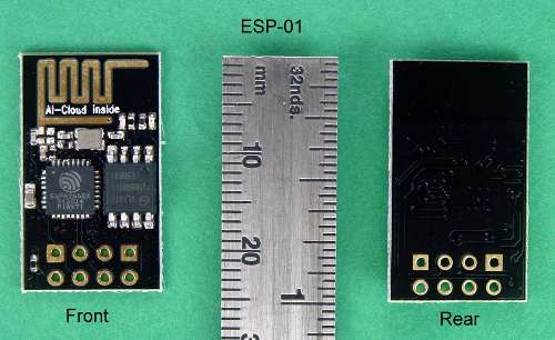 Placa Esp8266 Esp-01 +Adaptador USB Serial + Adaptador para Protoboard